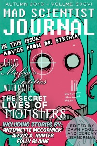 Cover of Mad Scientist Journal: Autumn 2013