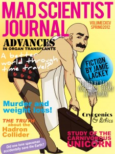 Cover of Mad Scientist Journal: Spring 2012