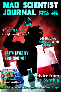 Cover of Mad Scientist Journal: Spring 2013