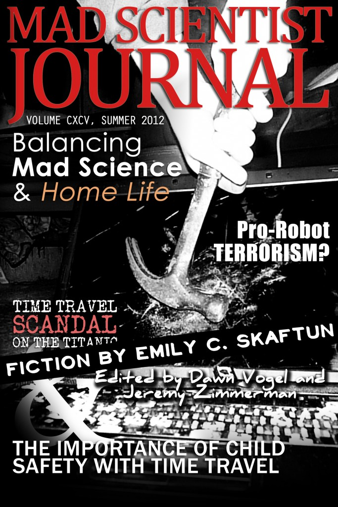 Cover of Mad Scientist Journal: Summer 2012
