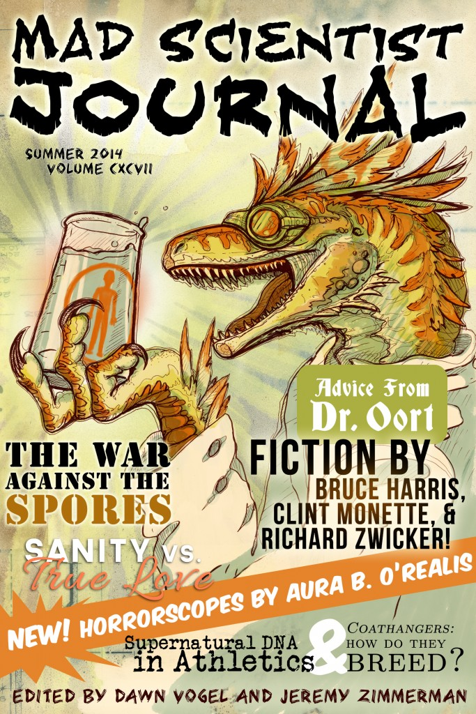 Cover for Mad Scientist Journal: Summer 2014