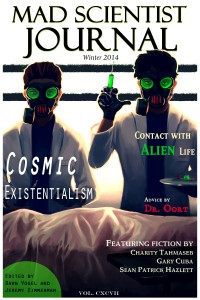 Cover for Mad Scientist Journal: Winter 2014