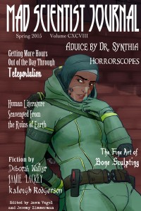 Cover for Mad Scientist Journal: Spring 2015