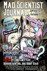 Cover for Mad Scientist Journal: Spring 2017