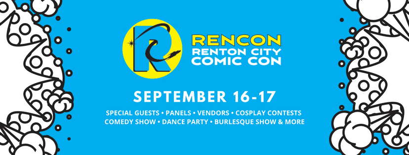 Banner image for Renton City Comic Con