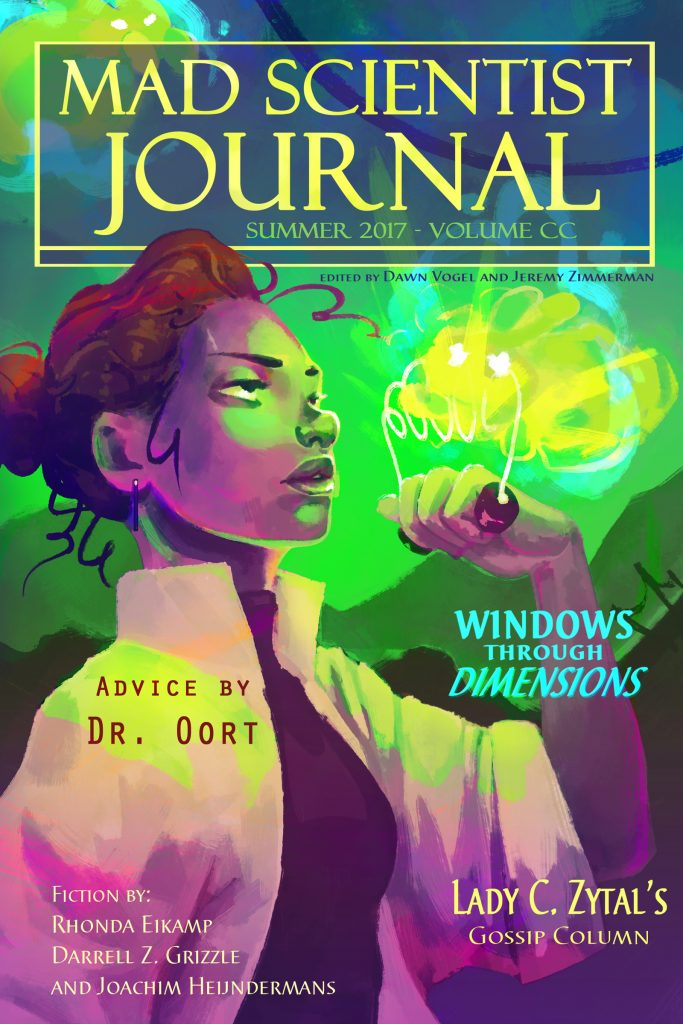 Cover for Mad Scientist Journal: Summer 2017