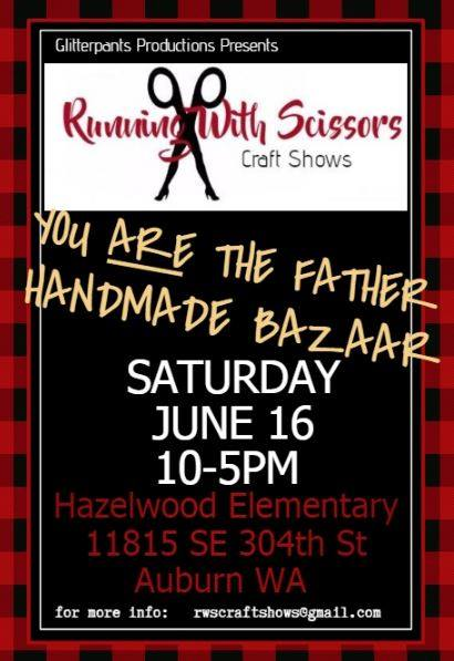 Poster for You Are the Father Handmade Bazaar