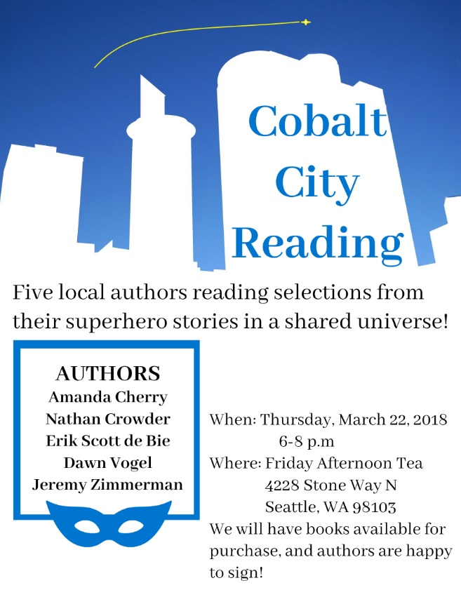 Cobalt City Reading
