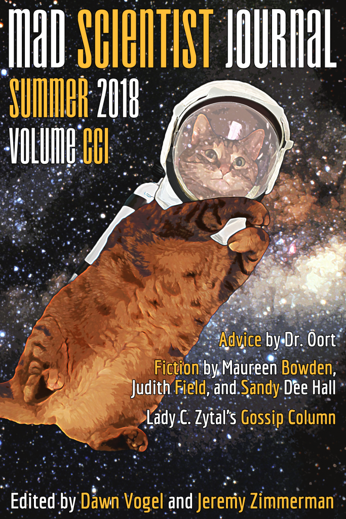 Cover Art for Mad Scientist Journal: Summer 2018
