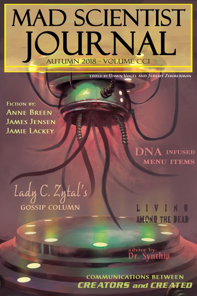 Cover art for Mad Scientist Journal: Autumn 2018