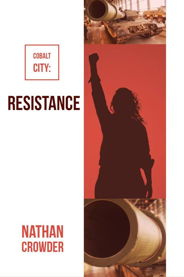Cover Art for Cobalt City: Resistance