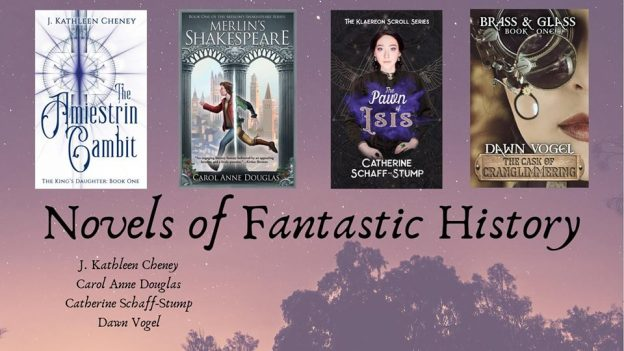 Event banner for Novels of Fantastic History, Part Two